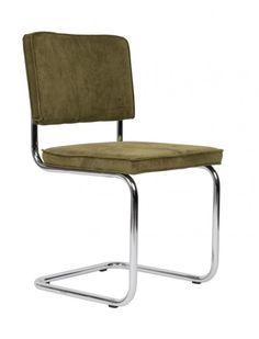 Ridge rib stoelen - Nieuwe kleuren (Ridge stoel Rib Groen