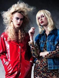 #AntidoteMagazine shot in NY at demarchelier studio, blond hair, hair texture   Credits  photo: victor demarchelier,  styling : yann weber, hair: nicolas jurnjack, make up : maki ryoke