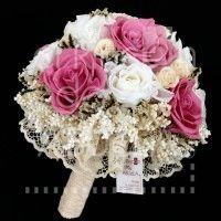 Bouquet Rosas Vintage #bouquet #ramo #rosas #bride #novia #boda #vintage