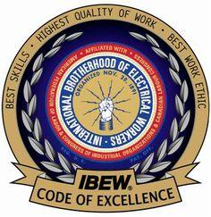 I.B.E.W. Code of excellence.
