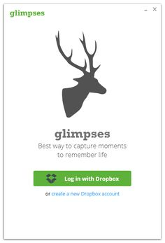 #getglimpses Journal app