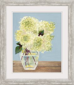 Decorate your walls well with canvas prints. We are industry leaders in creating custom pictures on canvas, temporary wallpaper, and art canvas prints. Farmhouse Wall Art, Modern Farmhouse, Farmhouse Decor, Hydrangea Vase, Green Hydrangea, Dining Room Art, Wooden Tables, Art Decor, Glass Vase
