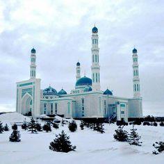 Beautiful  masjid on Kazkasthan