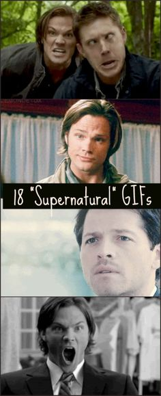 "18 ""Supernatural"" GIFs To Express Your Every Emotion - only on BuzzFeed!"