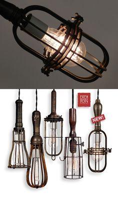Rren Berg - amazing industrial lamps