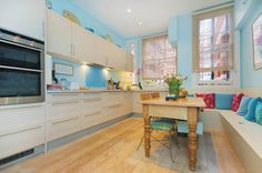 Bright and airy Kitchen - London - Photography by Photoplan