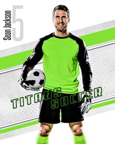player banner photo template shattered soccer ball player team