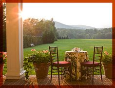 The Inn at Little Washington, Virginia : one of the few unspoiled villages left in America.