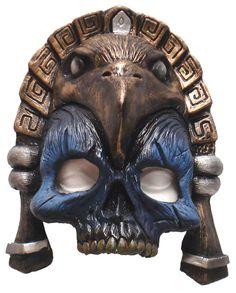 Mayan Masks | Kids Chinless Mayan Mask - Halloween Costumes