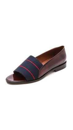 Band of Outsiders Peep Toe Loafers