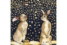 Anna Wright, UK--Snow Bunnies Christmas Card Pack