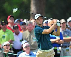 Martin Kaymer tees off at the 17th hole during the first round of the 2011 Masters Tournament.  FILE/STAFF