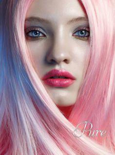 Pastel Pink Hair Extensions - All For Hair Cutes Pink Hair Extensions, Blonde Babies, Best Virgin Hair, Low Lights Hair, Pastel Pink Hair, Custom Shades, Fresh Hair, White Blonde, Luxury Hair