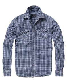 Checkered western shirt - Shirts - Scotch & Soda Online Shop