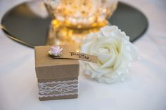 A very nice and elegant 'Thank You' box, to thank your guests for coming and enjoying your Special Day with you.