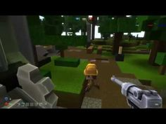 Digger Online RAW Gameplay 1 - Digger Online is a Free to Play [F2P] Sanbox MMO Game with additional Shooter mods