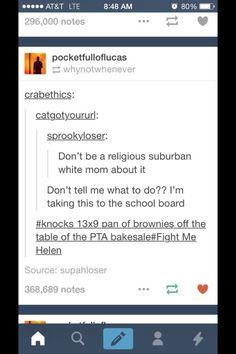 Funny tumblr conversation white suburban van mom