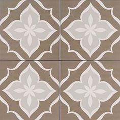 8x8 Kenzzi La Fleur Patterned Tile