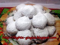 Κουραμπιέδες Μάνης με ελαιόλαδο Greek Christmas, Christmas Sweets, Christmas Baking, Kourabiedes Recipe, Creme Brulee Cheesecake, Greek Cookies, Middle Eastern Desserts, Sweet Recipes, Cookie Recipes