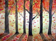 Grade 8 - watercolor-Megan6599's art on Artsonia