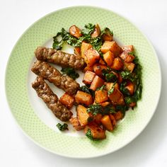 Home Fries with Sausage http://www.womenshealthmag.com/weight-loss/healthy-breakfast-ideas/slide/5