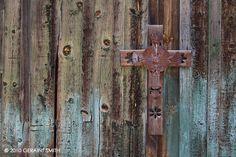 old barn cross