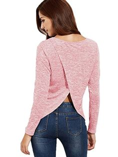 739e9ccf978 Shop Drop Shoulder Dip Hem Pullover Sweater With Pocket online. SheIn  offers Drop Shoulder Dip Hem Pullover Sweater With Pocket   more to fit  your ...
