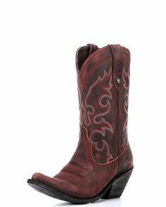 Women's Vintage Rojo Boot - Red
