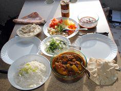 Avondeten in Kenia!  #Kenya #food #curry
