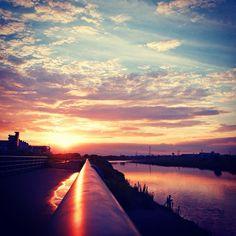 Tama-river Kawasaki 多摩川 - @moonlightice- #webstagram