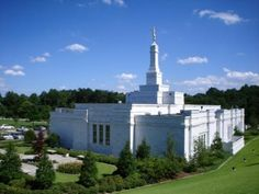 Birmingham Alabama lds temple. I went here with my dad as a kid to deliver fixtures :)