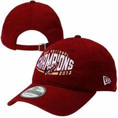 5358be75488 New Era Florida State Seminoles (FSU) 2013 BCS National Champions  Adjustable Hat - Garnet