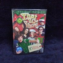 Brand new, factory sealed dvd that features 10 holiday themed episodes.  Shipping is included!