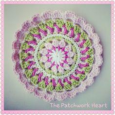 The Patchwork Heart - Mandala pattern