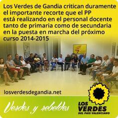 Los Verdes de Gandia inician los trabajos para las Elecciones Locales 2015 apoyando por unanimidad a su concejal Joan Lluís Soler