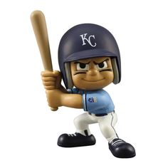 Kansas City Royals MLB Lil Teammates Vinyl Throwback Batter Figure (2 3-4inches Tall) (Series 2)