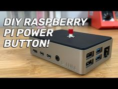 In this video, I'll teach you how to build your own Raspberry Pi power button, allowing you to shut your Pi down safely! I'll also show you how to install it. Retro Arcade Games, Raspberry Pi Projects, Power Button, Text On Photo, Diy Electronics, Tech Gifts, Home Automation, Program Design, Tech Gadgets
