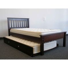 Best Simple Full Size Trundle Bed With Twin Second Mattress 400 x 300