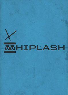 wiplash minimalism poster