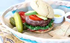 Dining Out on the Paleo Diet & Barbecue Burgers Recipe