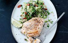 Broccolis kålsmag er god sammen med den kraftige chili, som sætter gang i forbrændingen.