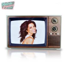 Retro Lovers - Porta retrato televisão retro