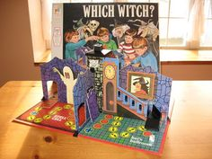 My sister got this very nifty Which Witch Game for one of her September birthdays, just in time for Halloween.