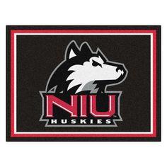 Northern Illinois Huskies 8x10 Plush Area Rug
