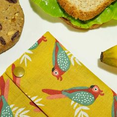 Biscuits, Snacking, Handmade Items, Handmade Gifts, Parrot, Sandwiches, Fruit Cookies, Pouch, Parrots