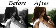 Rihanna Colored