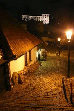 Praha, Nový svět, New World street in Prague Dark Weather, World Street, Heart Of Europe, Standard Lamps, Cities In Europe, Prague Czech, Street Lamp, Czech Republic, Gustav Meyrink