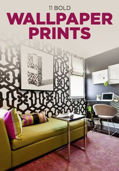 Design: Bold Wallpaper Prints to Try in Your Home