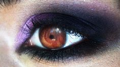 Dark purple makeup look by Desert-Winds on deviantART