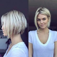 10 Stylish Short Hair Cuts for Thick Hair: Women Short Hairstyle - Short Hair Styles Hair Styles 2016, Long Hair Styles, Short Styles, Short Medium Hair Styles, 40 Year Old Hair Styles, Popular Short Hairstyles, Medium Hairstyles, Blonde Hairstyles, Celebrity Hairstyles